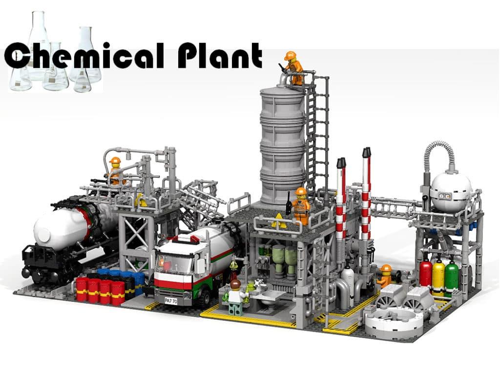 LEGO Ideas Chemiefabrik