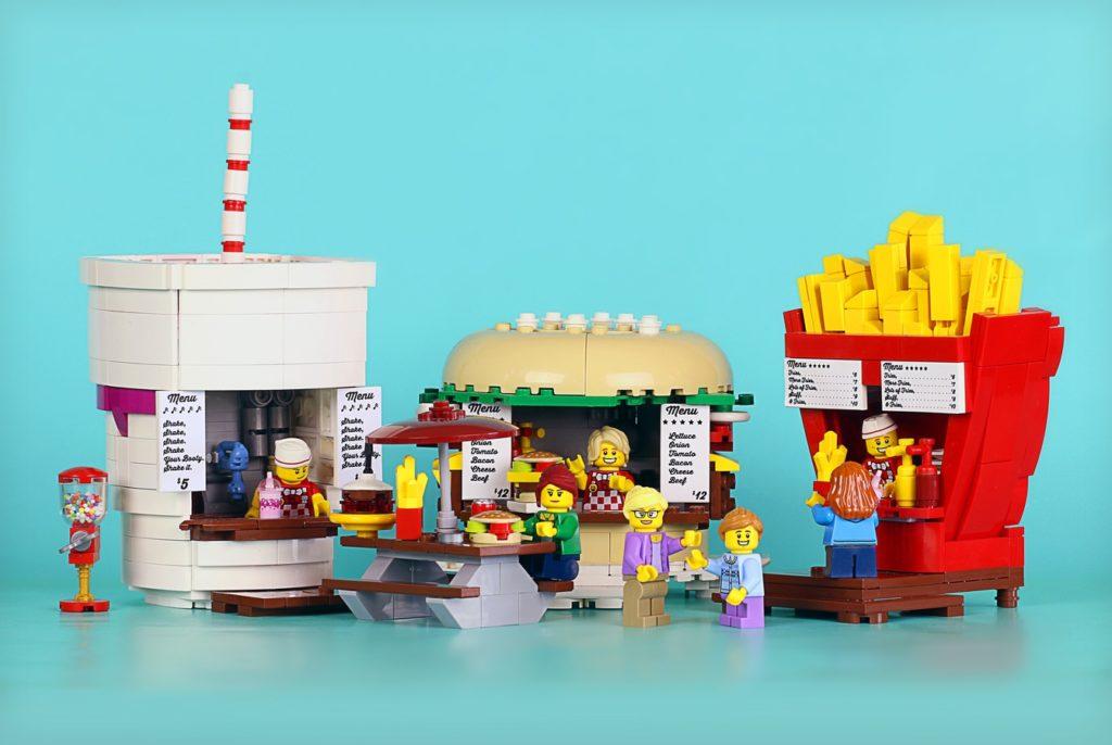 LEGO Ideas Futter-Buden