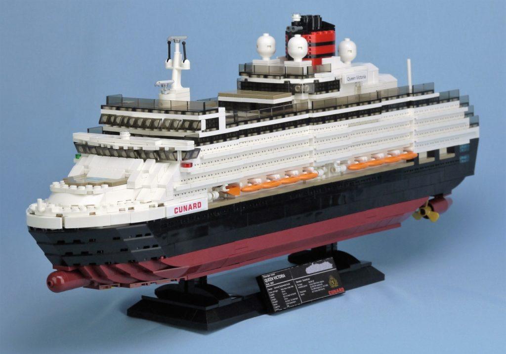 LEGO Ideas Kreuzfahrtschiff Queen Viktoria