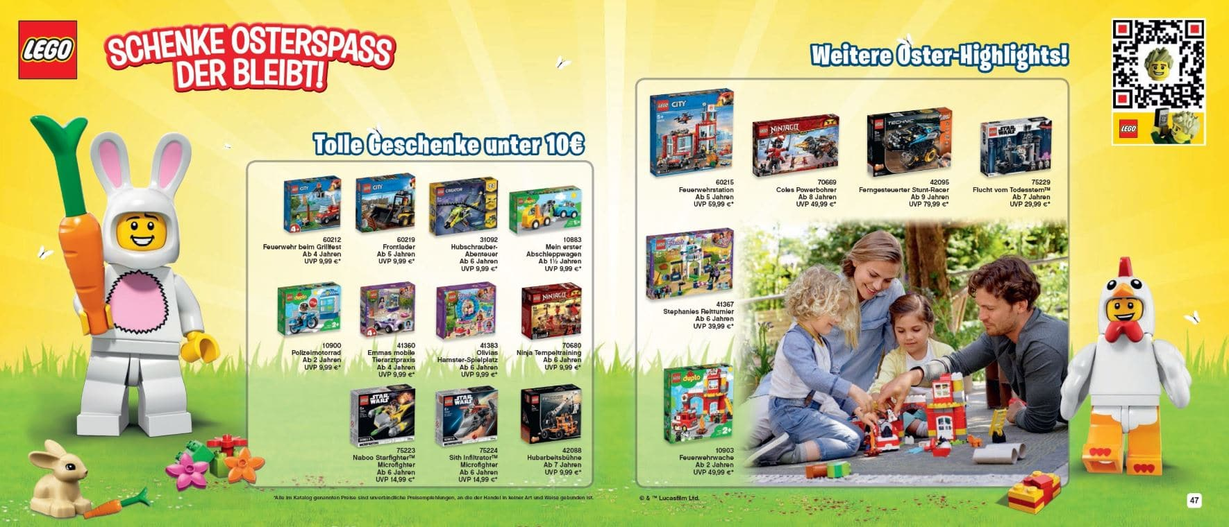 LEGO Katalog 2019 Deutsch