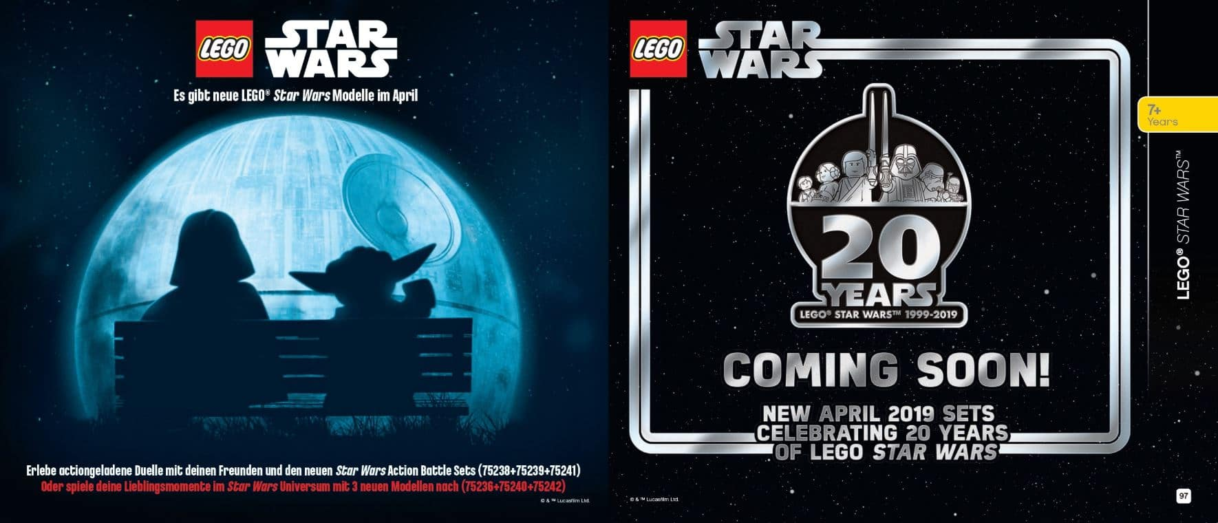 Neue LEGO Star Wars Sets im April 2019 Teaser