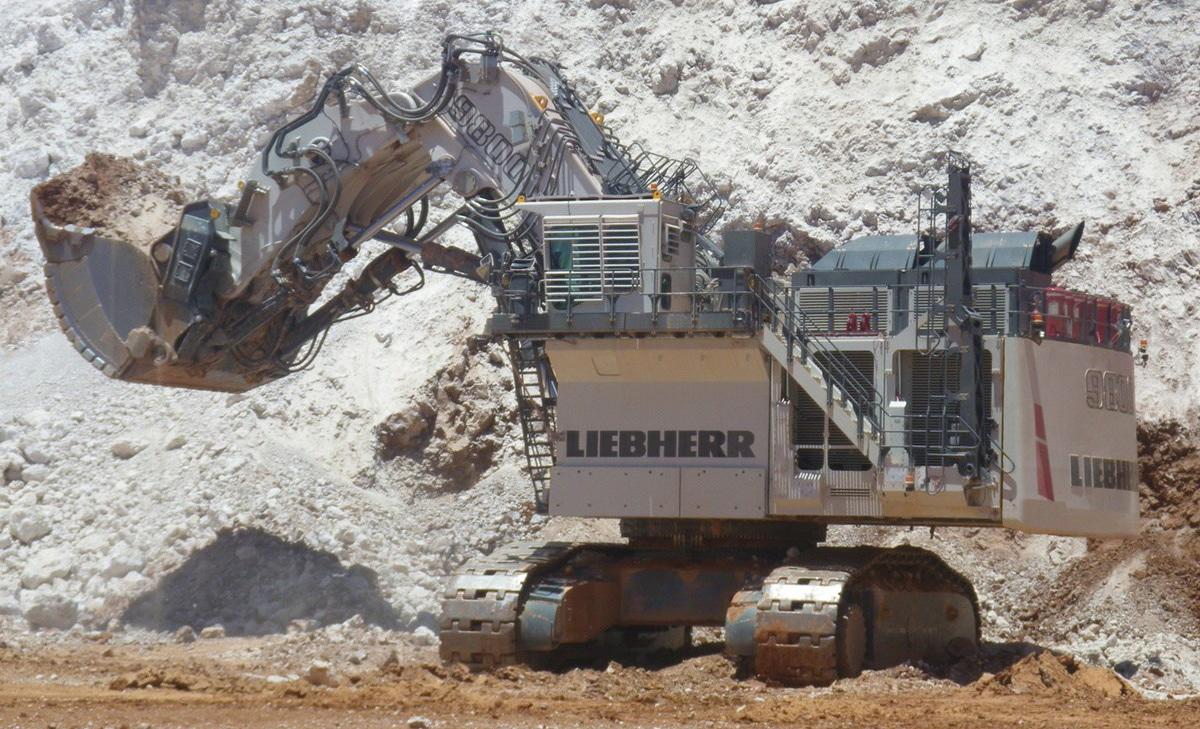 Liebherr R 9800 Mining-Bagger