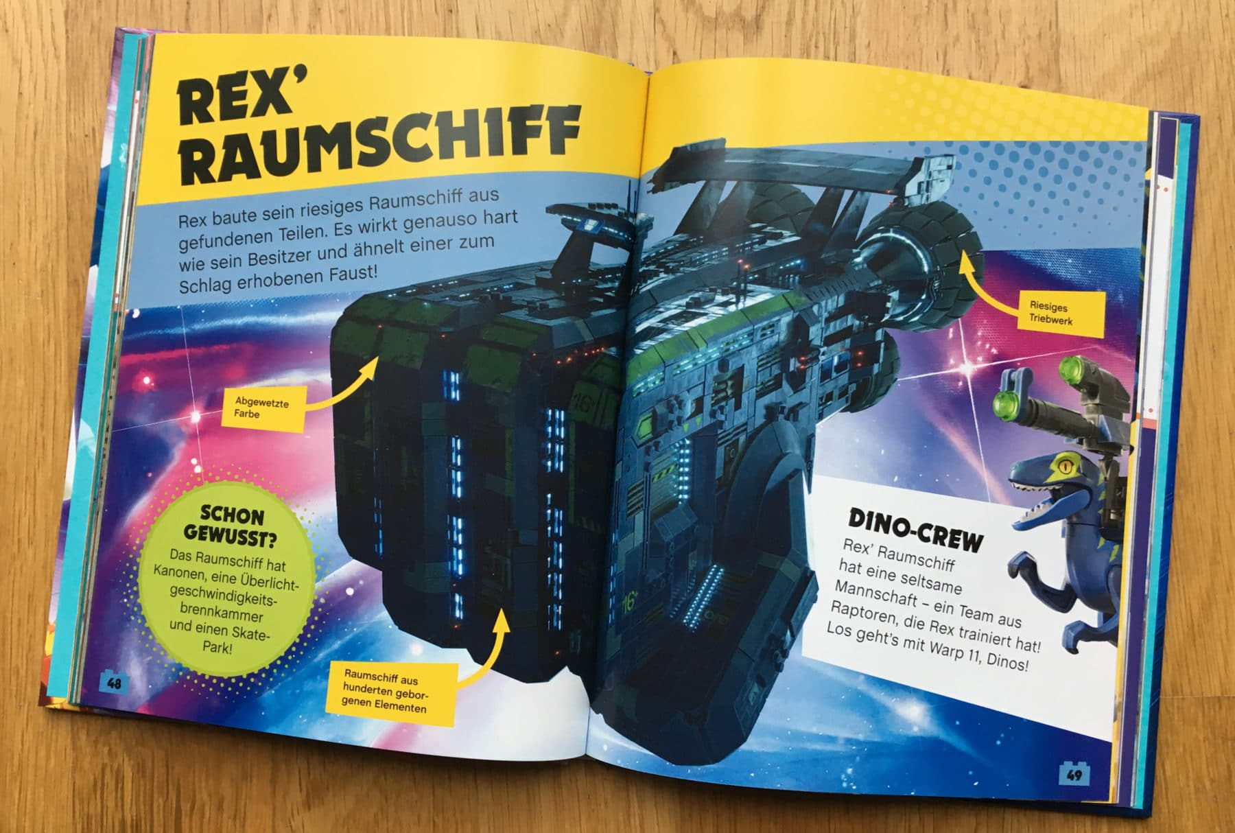 The LEGO Movie 2: Rexcelsior im Buch zum Film