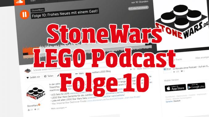StoneWars LEGO Podcast Folge 10