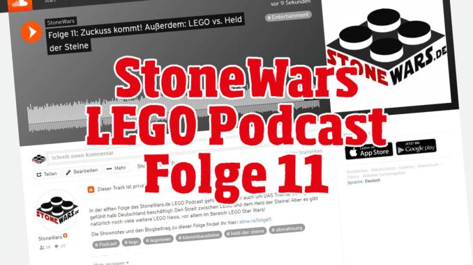 StoneWars LEGO Podcast Folge 11