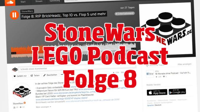 StoneWars LEGO Podcast Folge 8