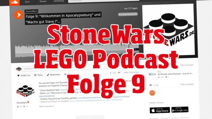 StoneWars LEGO Podcast Folge 9