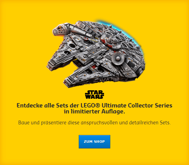 """Endecke alle Sets der LEGO Ultimate Collector Series in limitierter Auflage"""