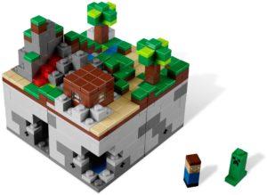 21102 LEGO Ideas Minecraft Micro World: The Forest