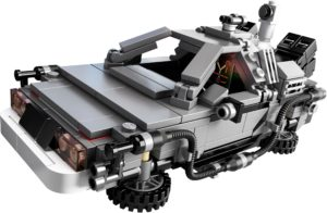 21103 LEGO Ideas The DeLorean Time Machine