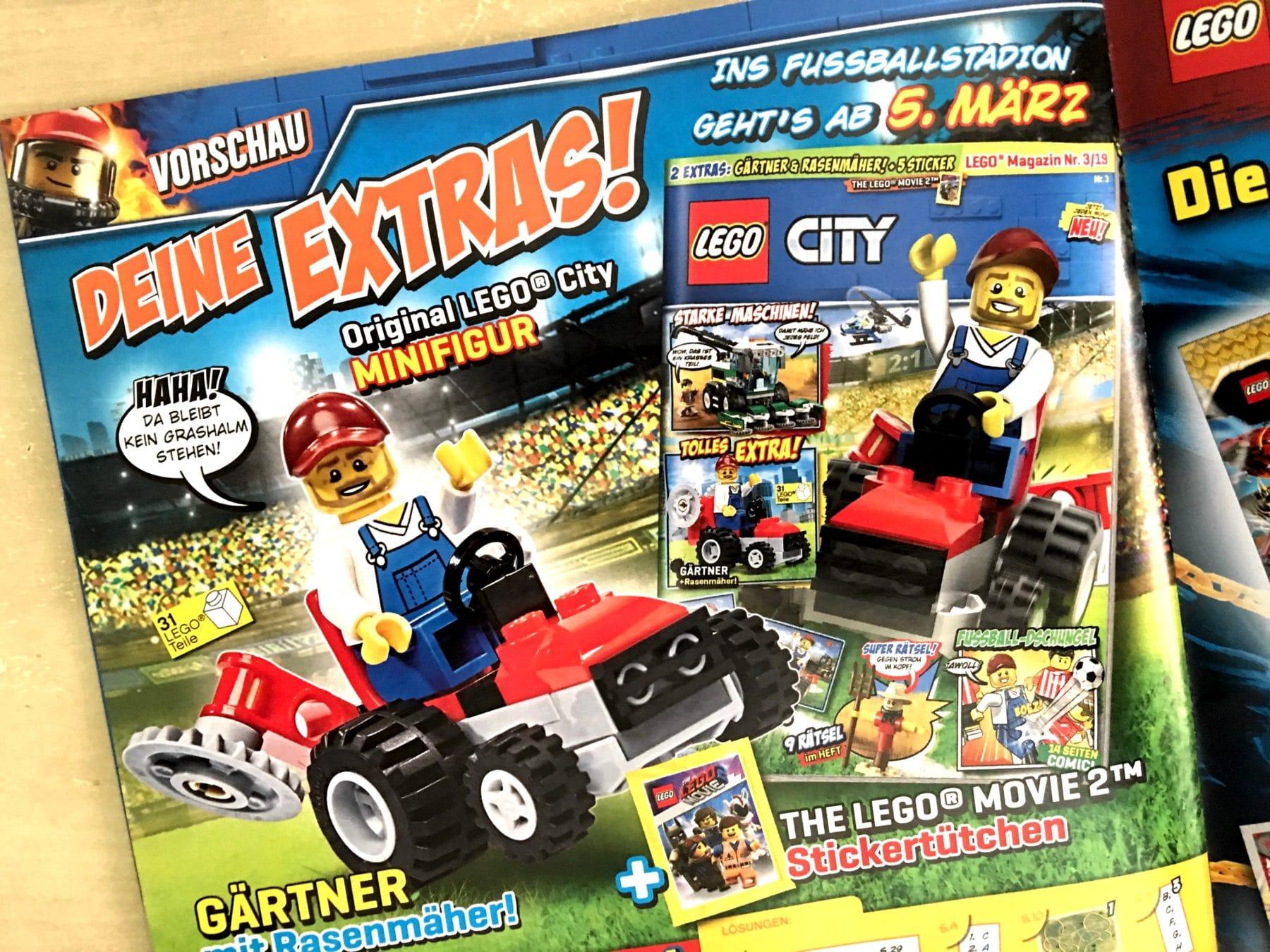 einen kurzen blick wert lego city magazin nr 2 19 stonewars. Black Bedroom Furniture Sets. Home Design Ideas