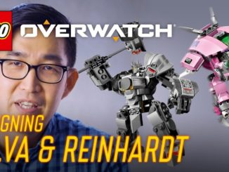 LEGO Overwatch Designer Video D.Va & Reinhardt