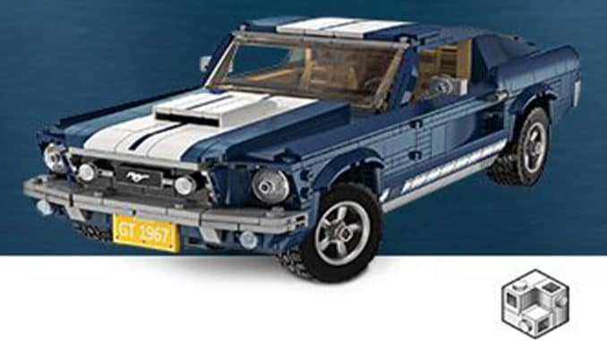lego creator expert 10265 ford mustang gt vorgestellt. Black Bedroom Furniture Sets. Home Design Ideas