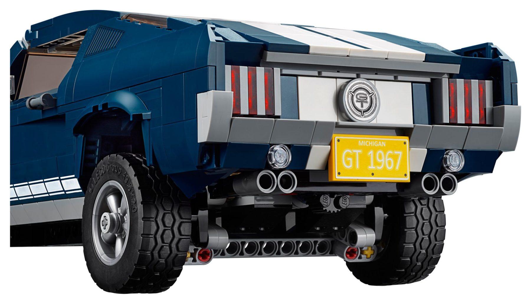LEGO 10265 Ford Mustang GT von hinten
