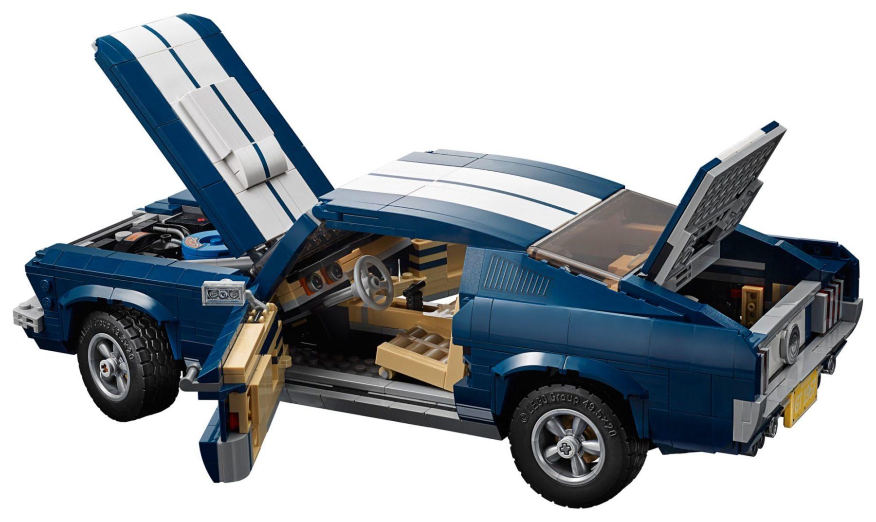LEGO 10265 Ford Mustang GT mit allen Funktionen