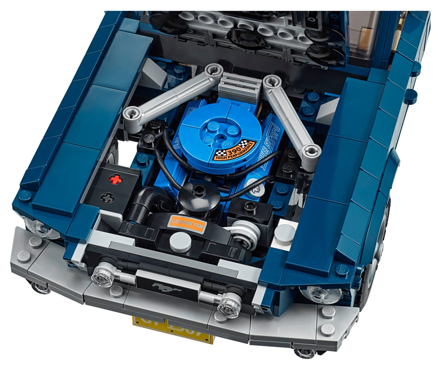 LEGO 10265 Ford Mustang GT Motor