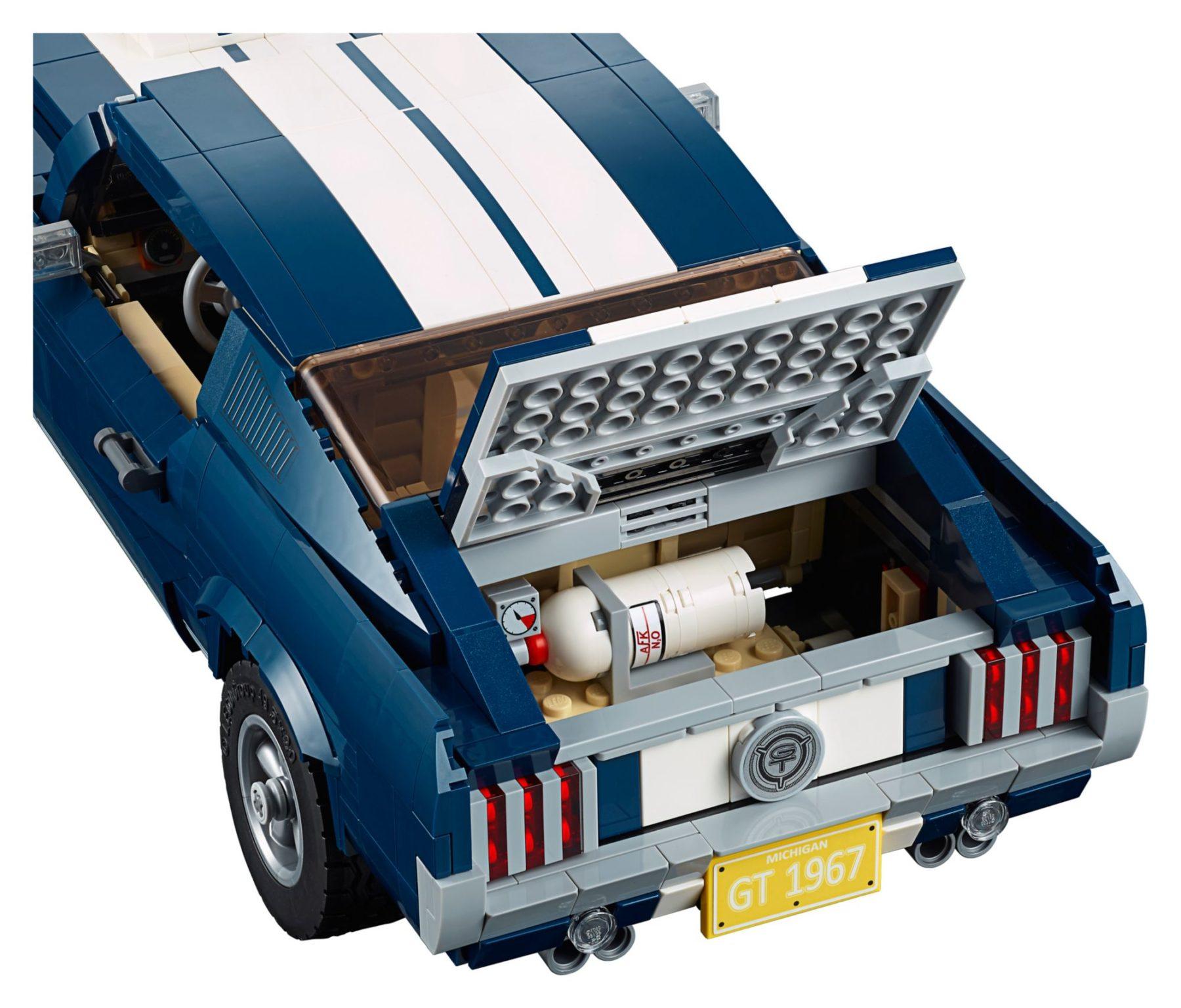 LEGO 10265 Ford Mustang GT Kofferraum