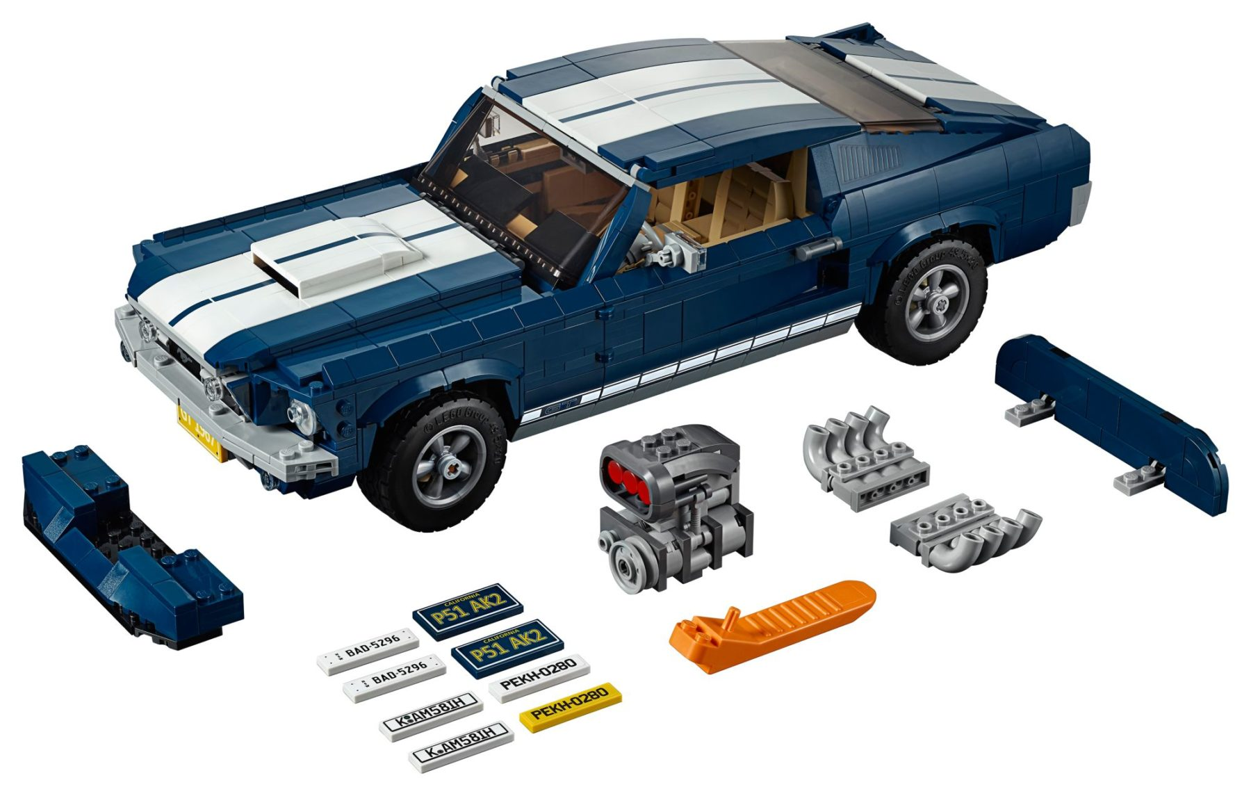 LEGO 10265 Ford Mustang GT Teile