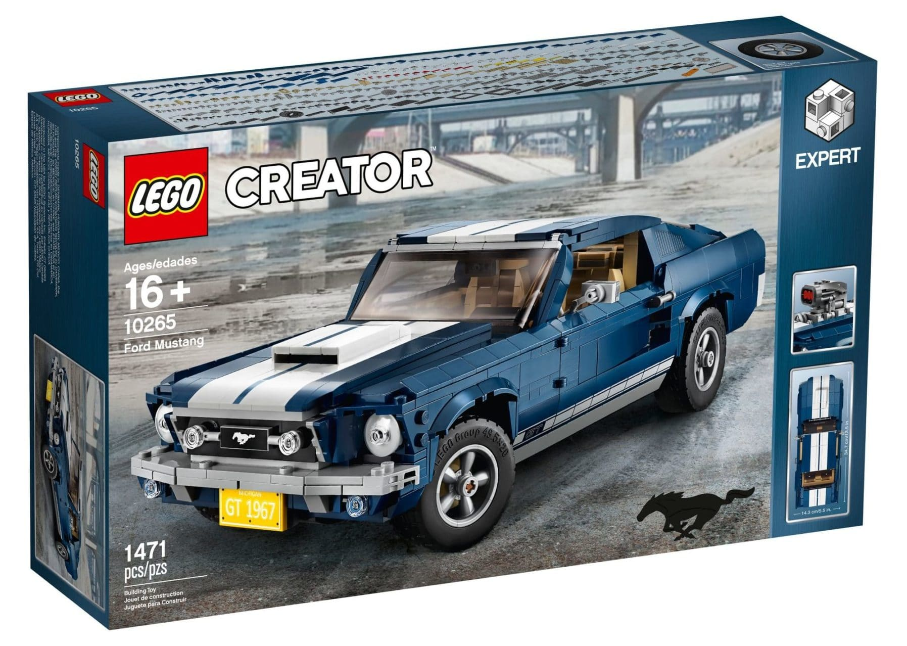 LEGO 10265 Ford Mustang GT Box