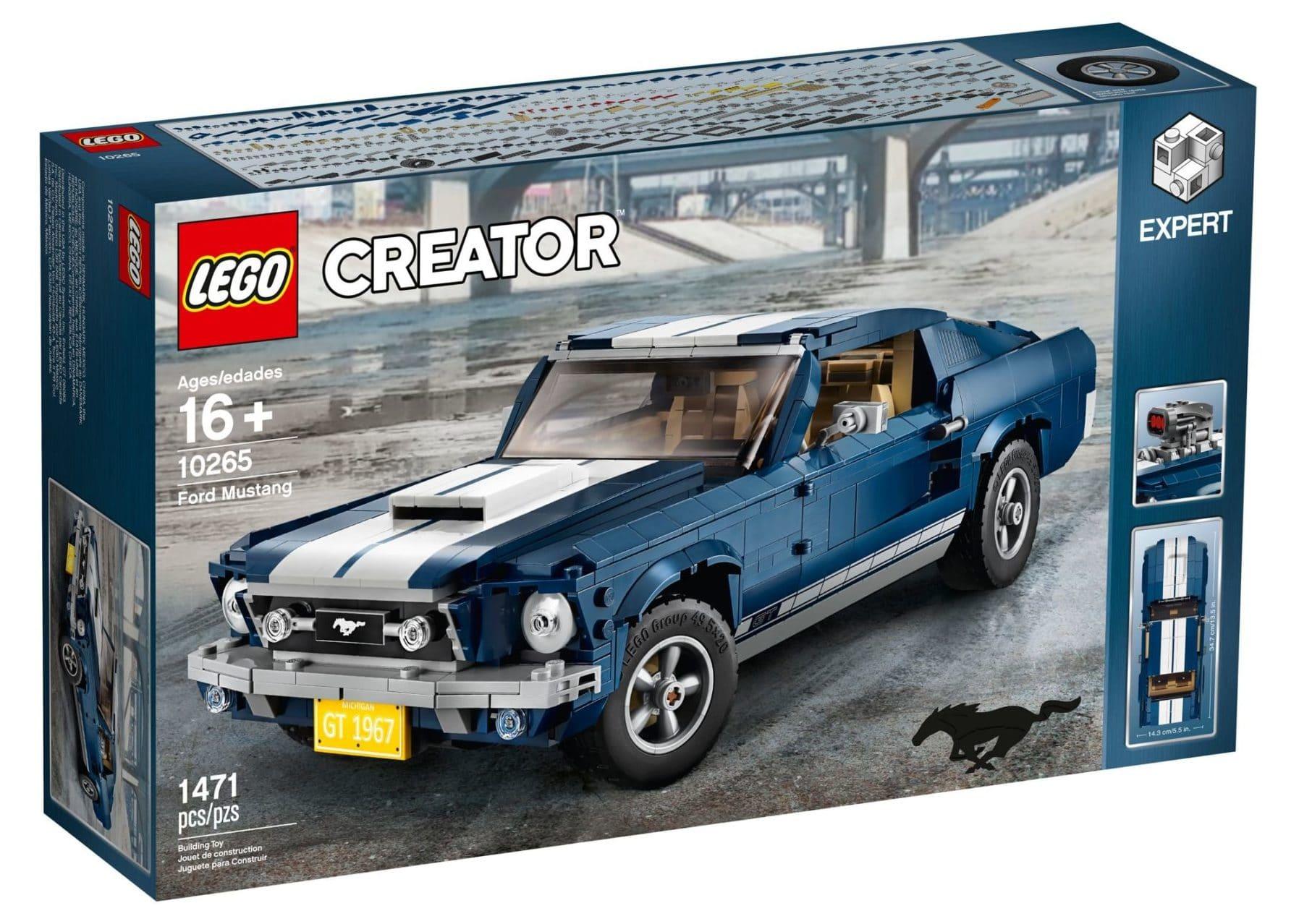 Lego 10265 Ford Mustang Lieferbar Ab Wann Mit Rabatt Verfügbar