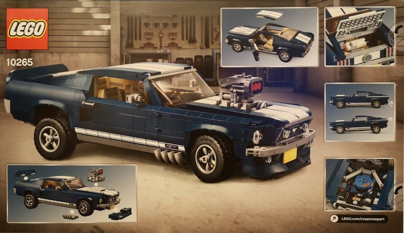 LEGO 10265 Ford Mustang Rückseite