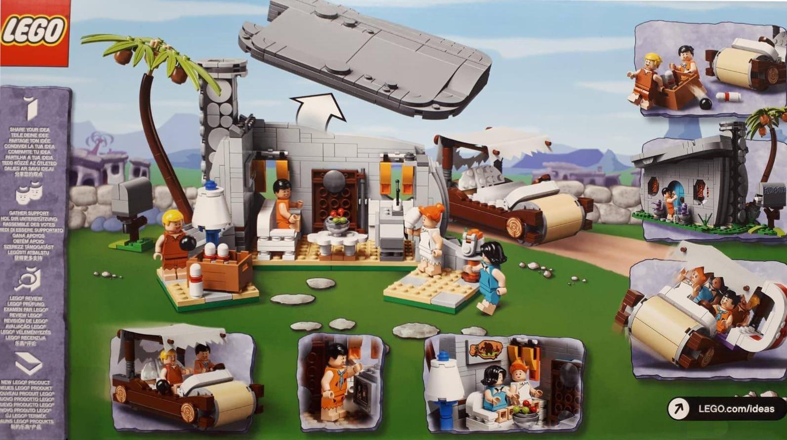 LEGO 21316 Flintstones Rückseite