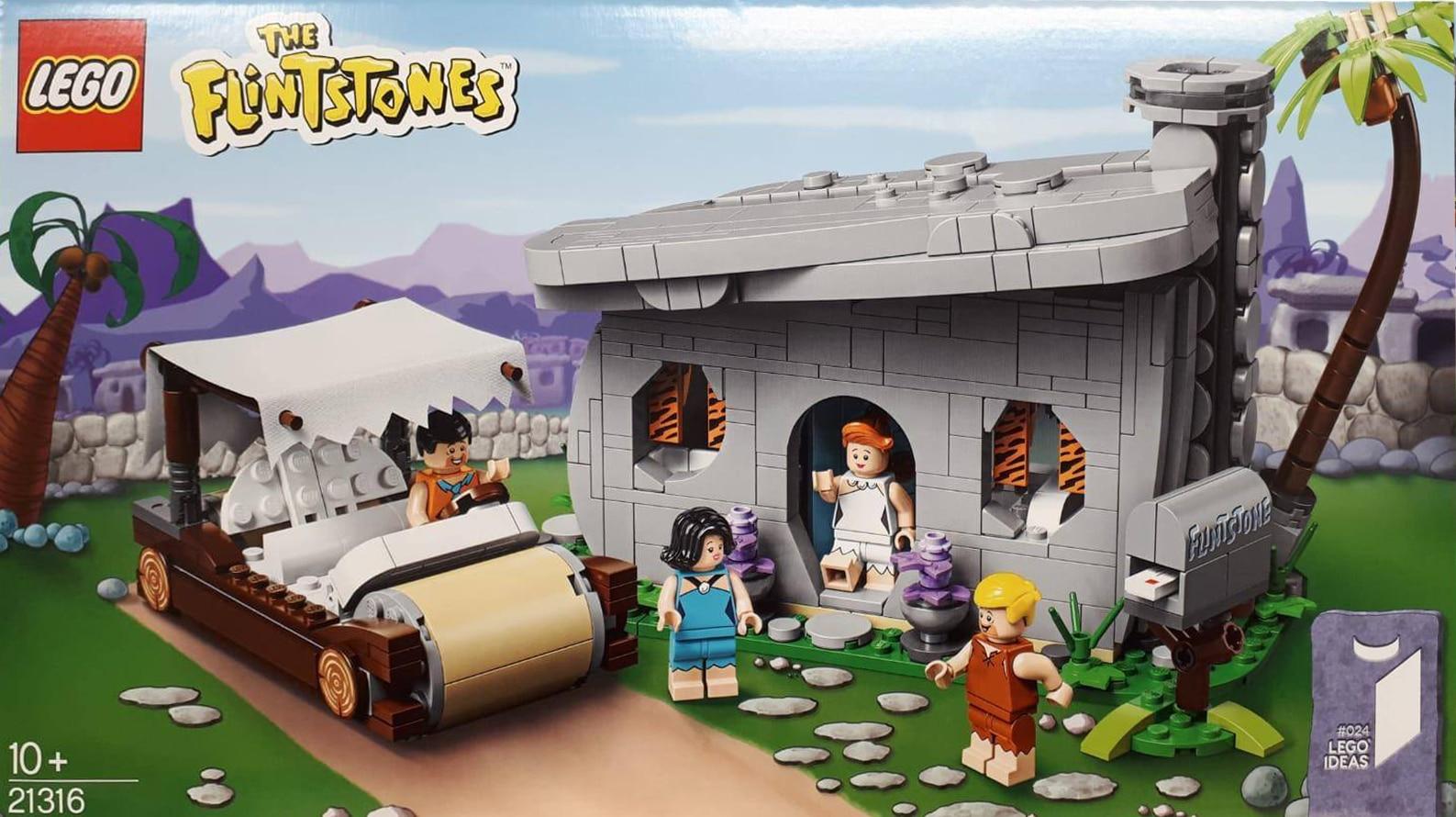 LEGO 21316 Flintstones Vorderseite