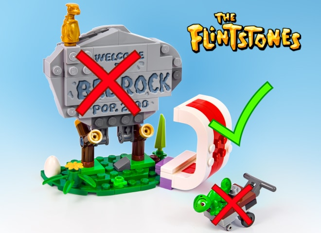 LEGO 21316 The Flintstones Ribs