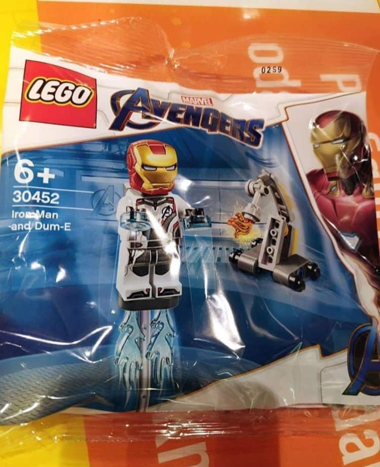 LEGO 30452 Iron Man and Dum-E