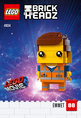 LEGO 41634 Emmet BrickHeadz