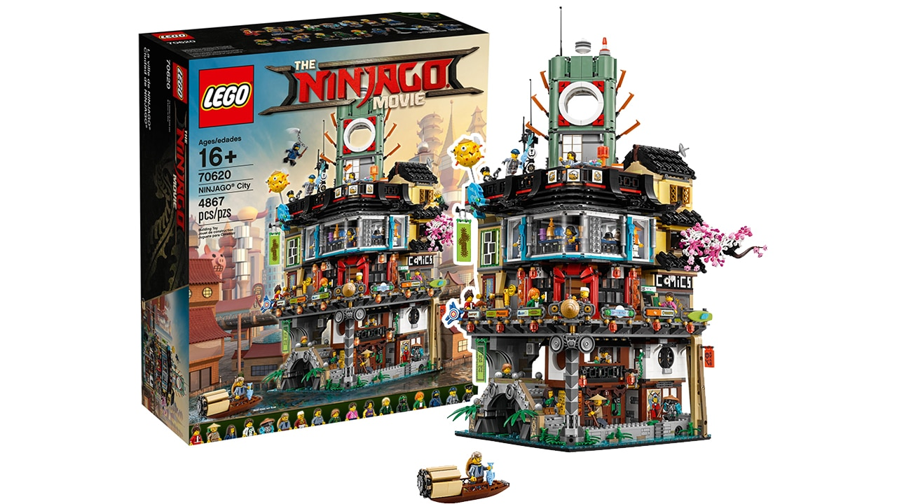 LEGO 70620 Ninjago City Angebot