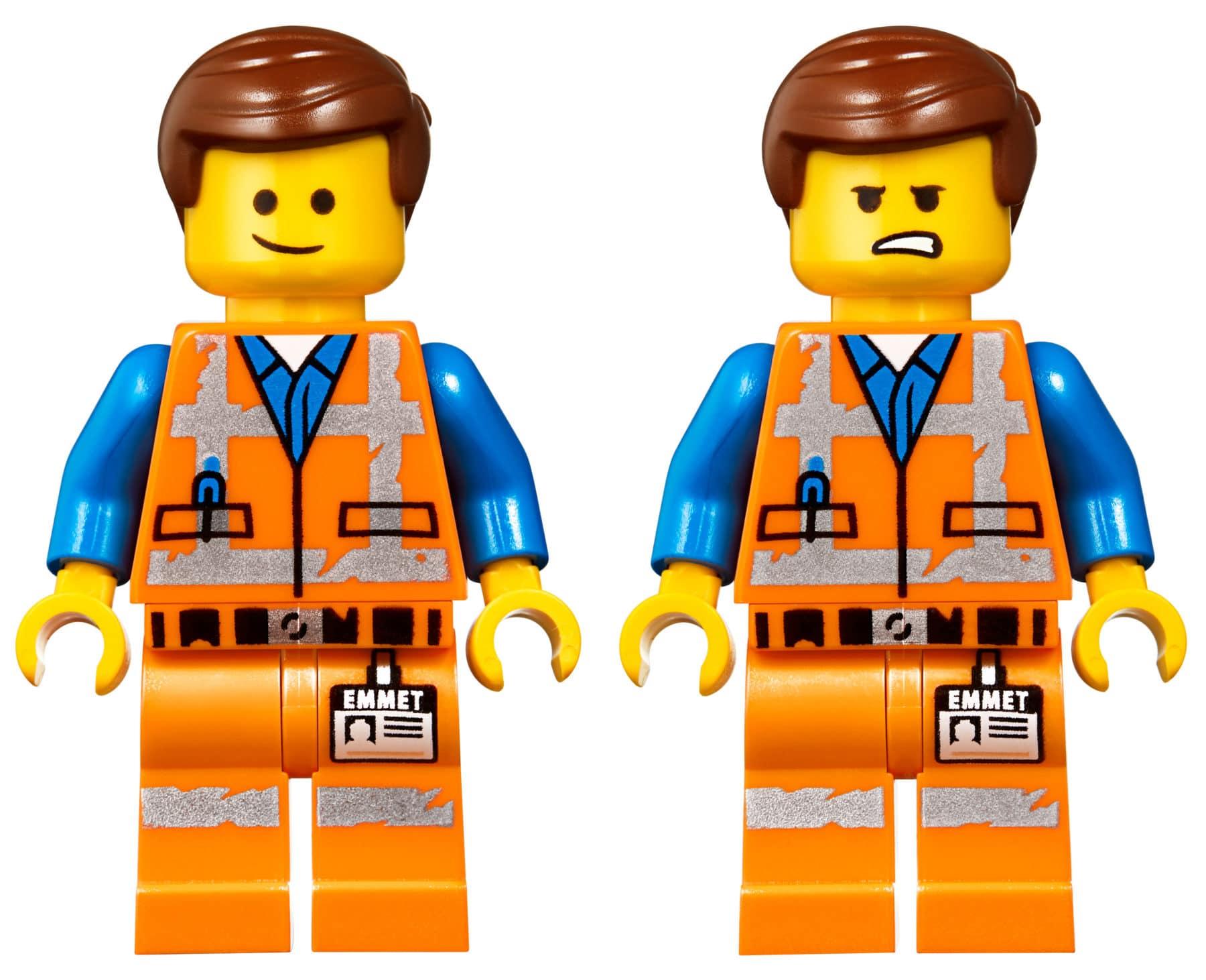 Emmet im LEGO 70842 Emmet's Triple-Decker Couch Mech