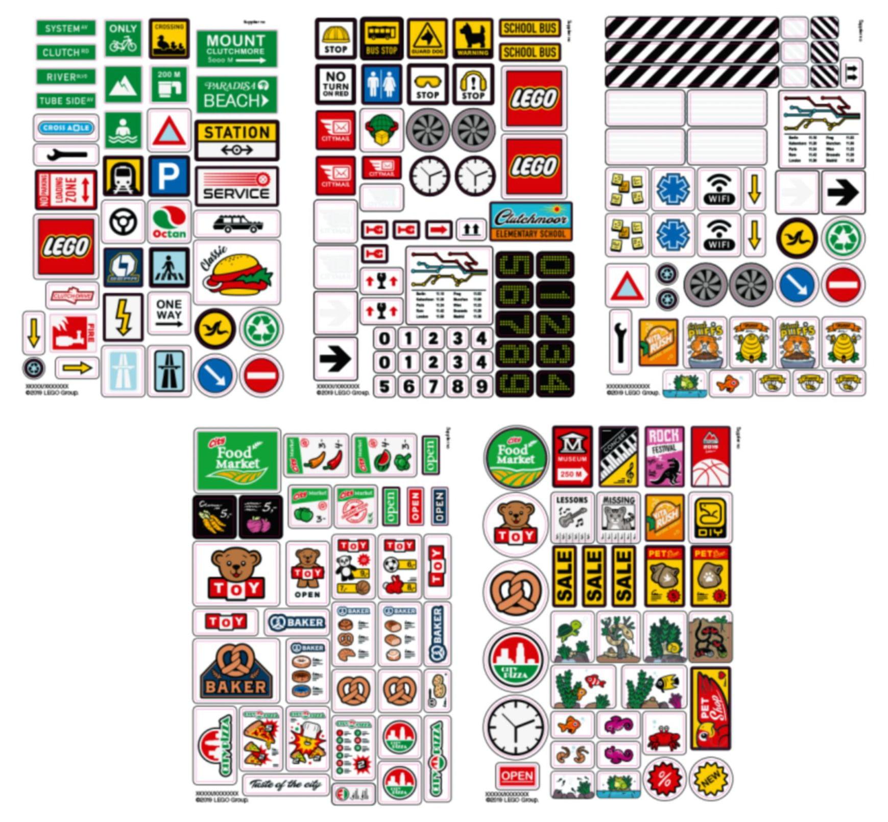 LEGO 853921 xtra Sticker