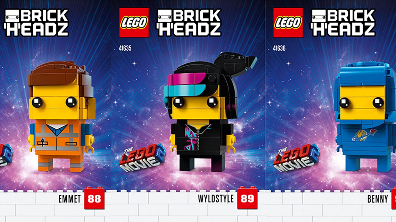 LEGO BrickHeadz zu The LEGO Movie 2