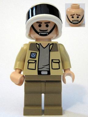 LEGO Captain Antilles Minifigur