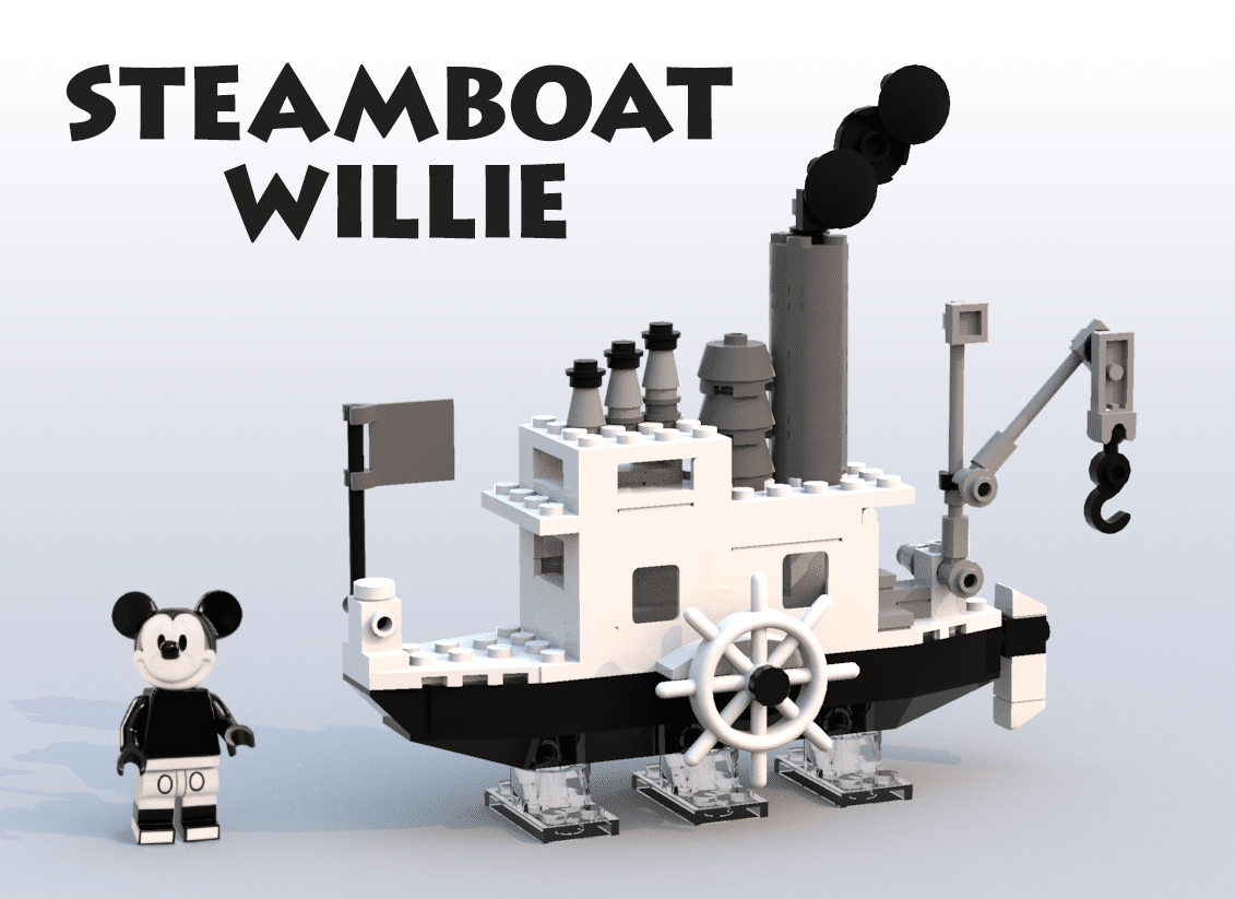 LEGO Ideas 21318 Steamboat Willie