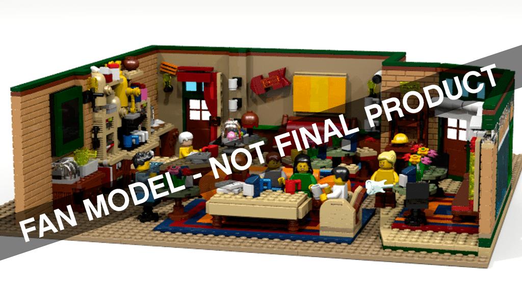 LEGO Ideas Friends Central Perk Coffee
