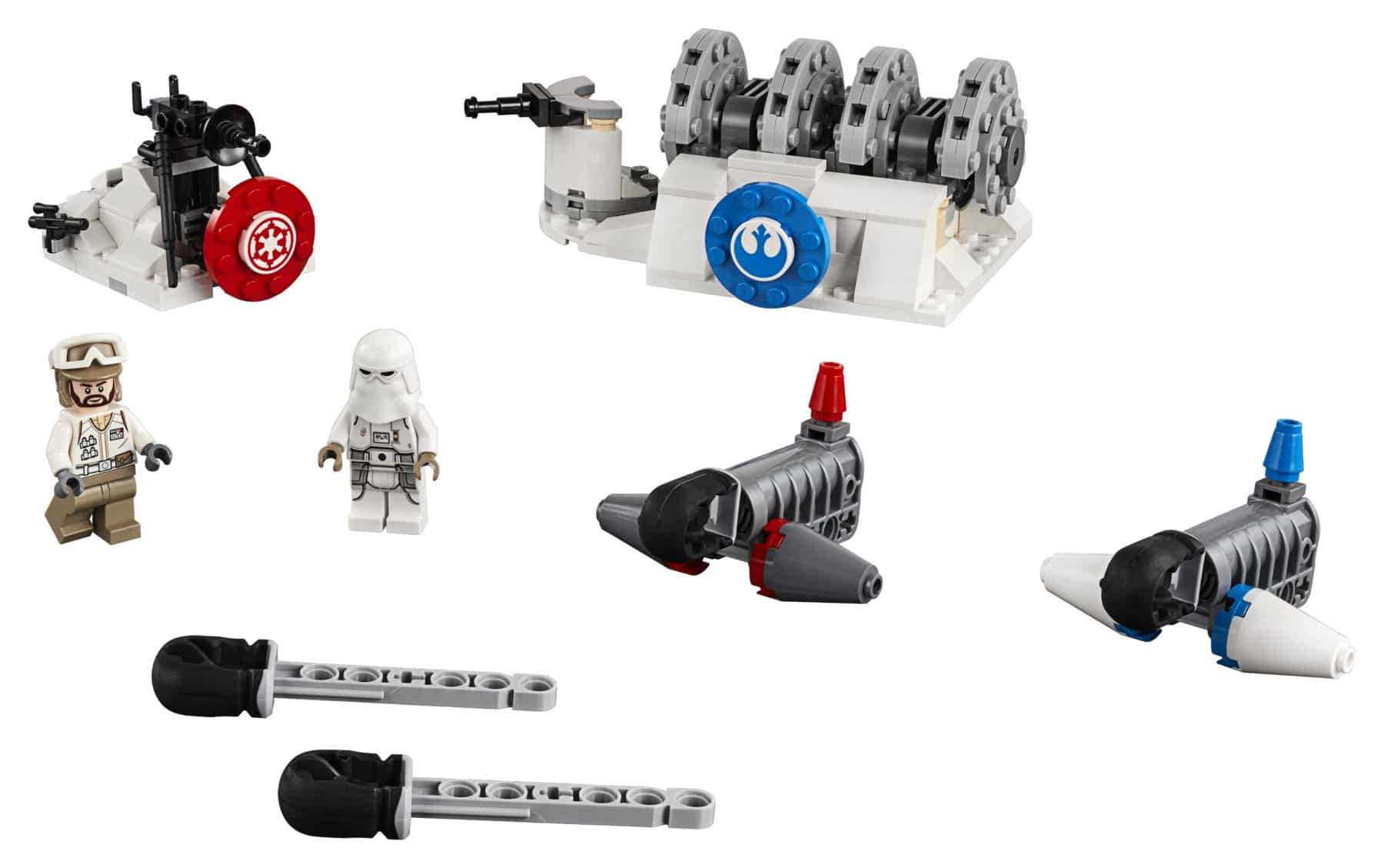 LEGO Star Wars 75239 Action Battle Hoth Generator Attack