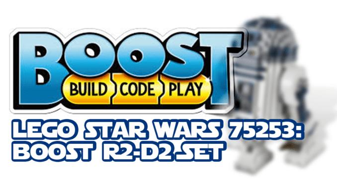LEGO Star Wars 75253 R2-D2 Boost Set