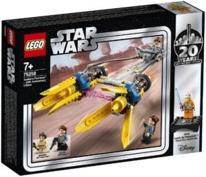 LEGO Star Wars 75258 Anakins Podracer 20th Anniversary Edition