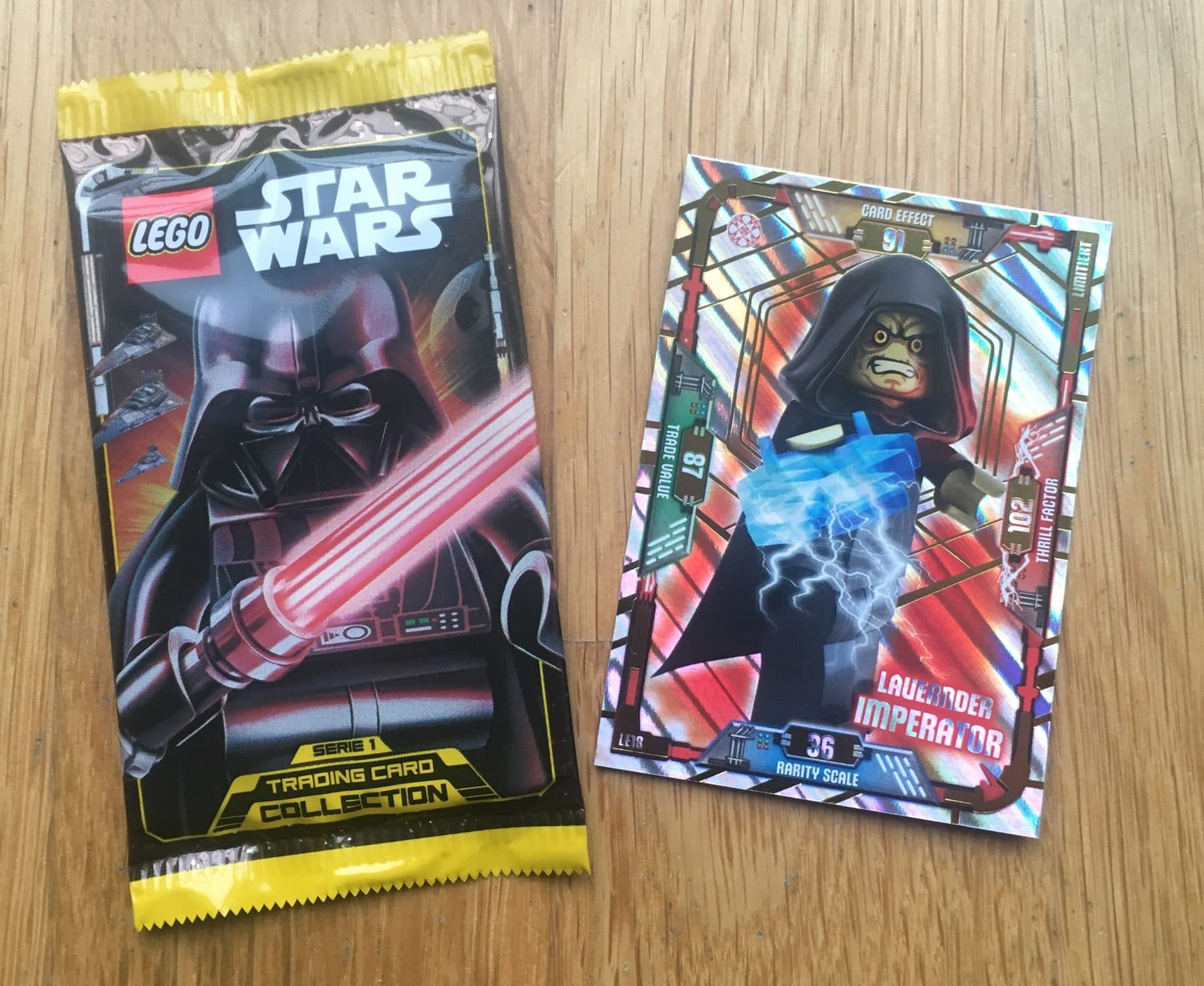 LEGO Star Wars Magazin #44 Trading Cards