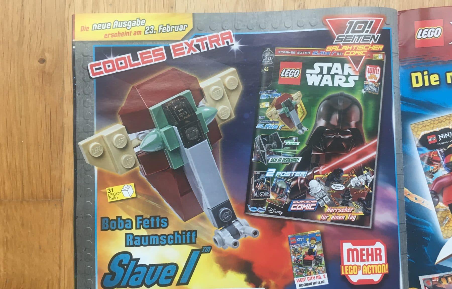 LEGO Star Wars Magazin Ausblick auf #45