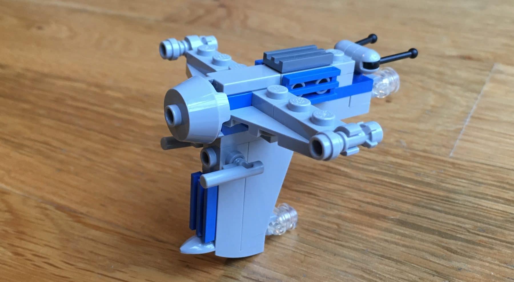 LEGO Star Wars Magazin #44 Resistance Bomber
