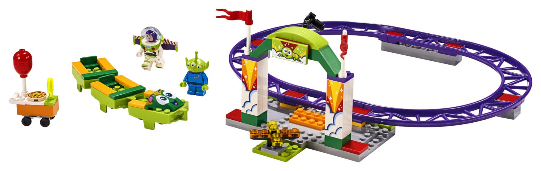 LEGO Toy Story 4 10771 Carnival Thrill Coaster