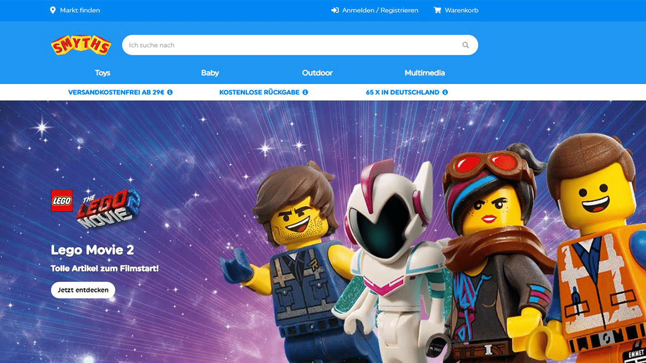 Smyths Toys Online Shop