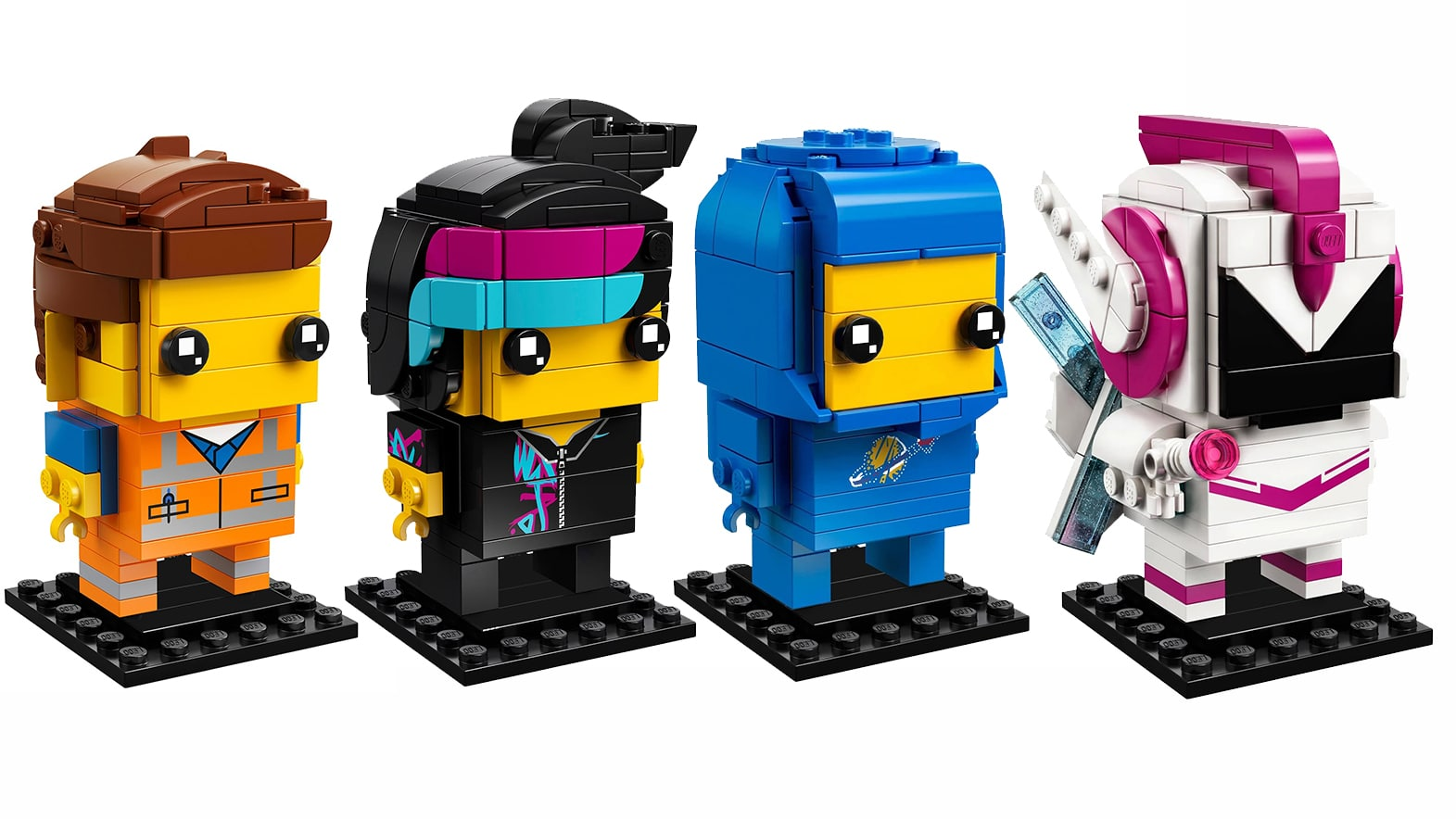THE LEGO Movie 2 Benny /& Sweet Mayhem BrickHeadz set SHIPS WORLDWIDE