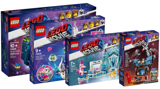 The LEGO Movie 2 Sets Frühling 2019