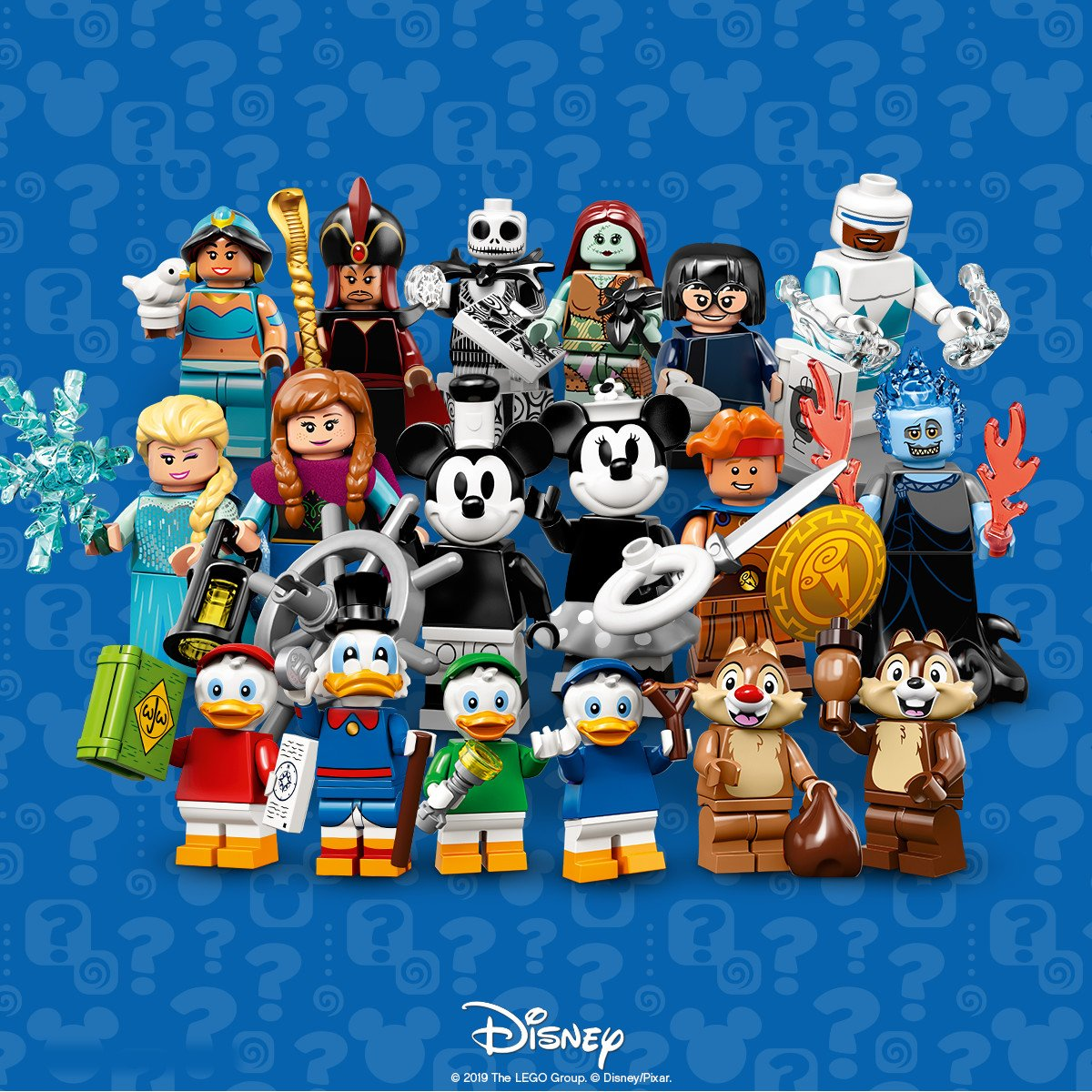 LEGO 71024 Minifigures The Disney Series 2