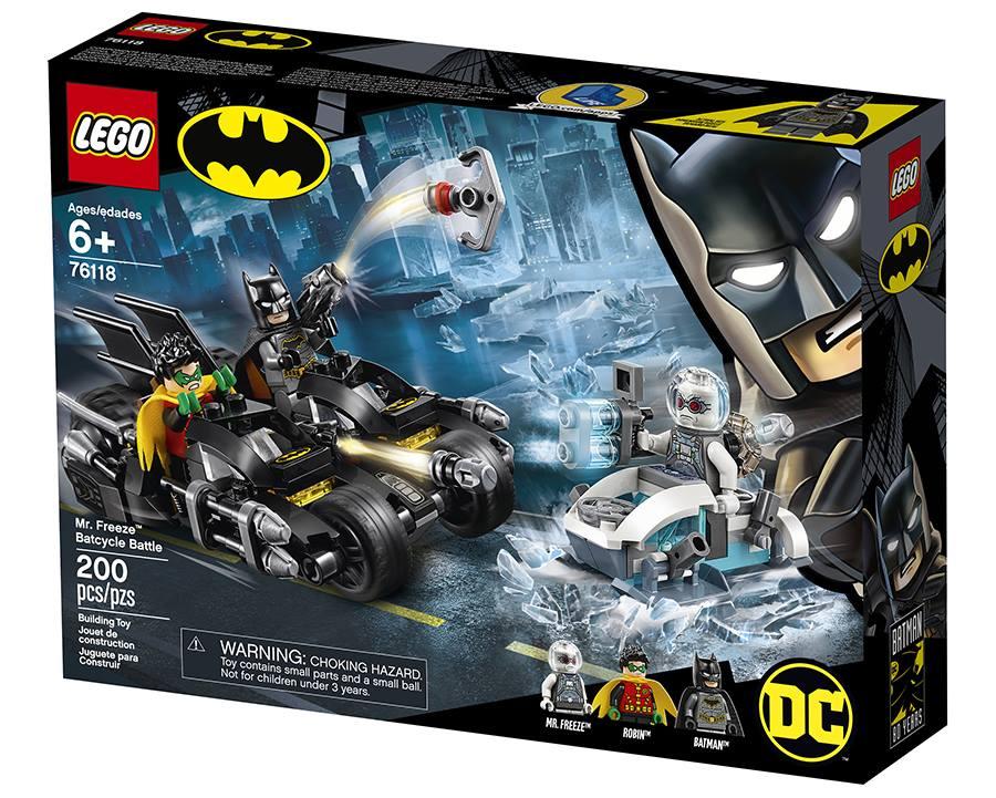 LEGO Batman 76118 Mr. Freeze Batcycle Battle Box