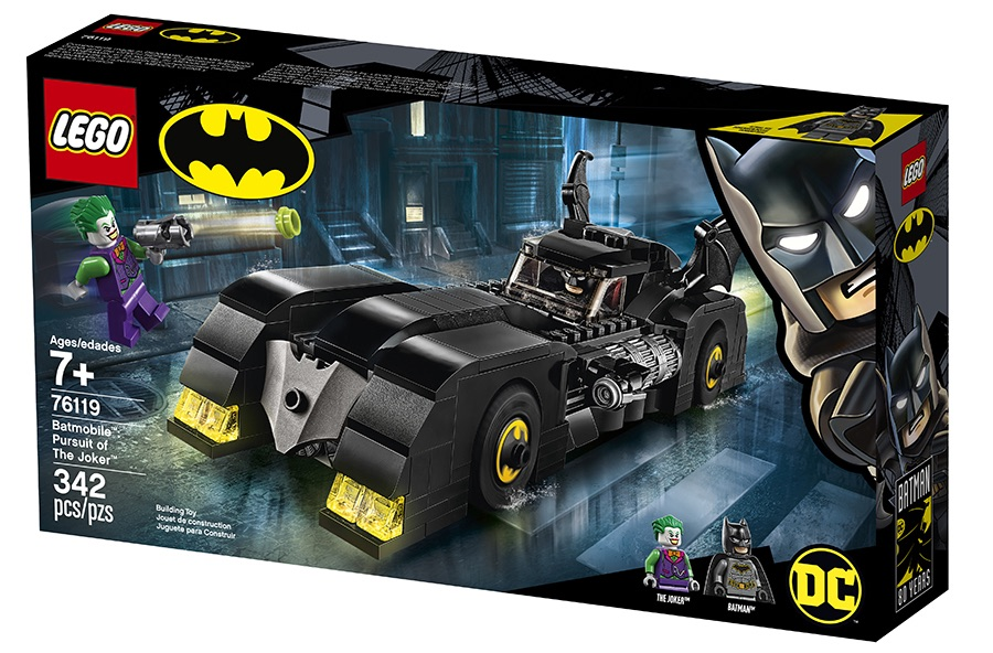 LEGO Batman 76119 Batmobile Pursuit of The Joker Box